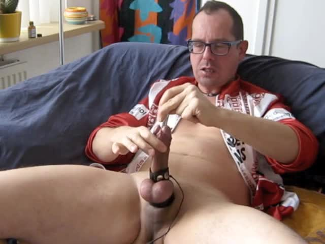 Masturbating With Estim And Poppers, likewise A Bit Of Sounding bdsm. Great ejaculation In My Bicycle Lycra Of Hans Anders Opticiens.