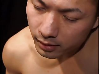 naughty asian twinks Threeway bang