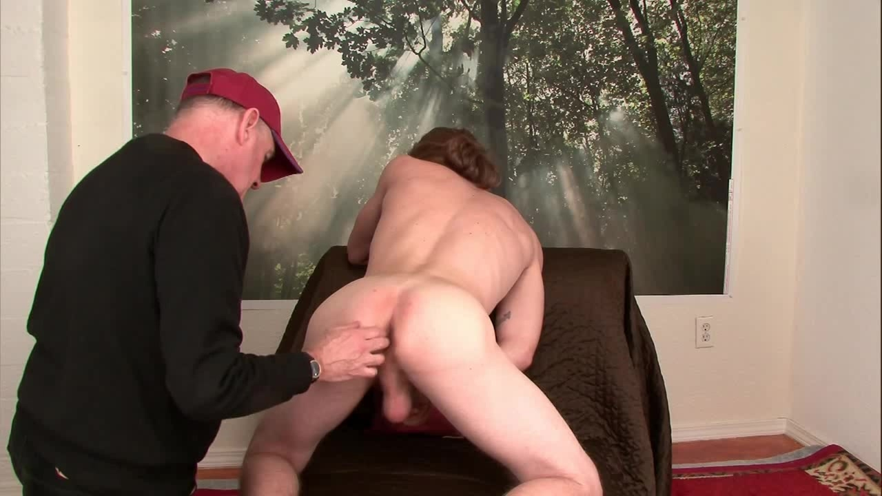 str8 Scruffy Wisconsin Farm boy's First gay blowjob,rim Job And Finger.