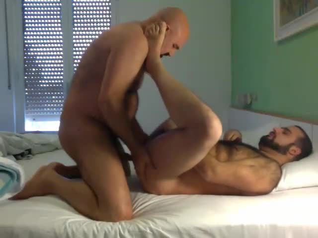 Me And A Very sweet hairy Bear In Session sucking, arse banging And deepthoat