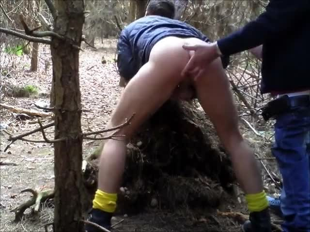 True Cruising In The Woods Servicing Horned Up mans That Wanted To shoot Their Load!