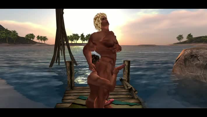 Late In The Afternoon Two guys Meet In The tasty Sim Of homosexual guys´s Cove En Make Love. Filmed In Second LIfe