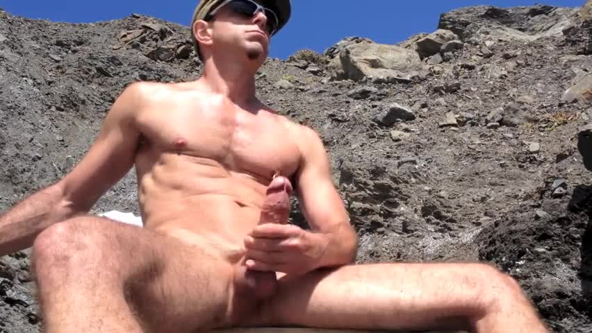 slamming And jerking off And Squirting At The naked Beach