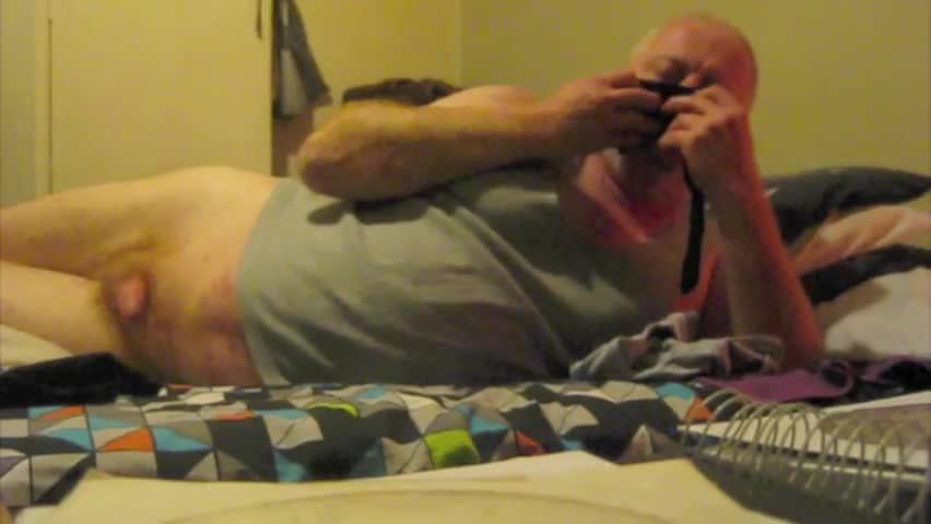 My livecamera Battery Died before The End So Had To Do another Ending. Was fine Doing It With My jizz In The Undies.