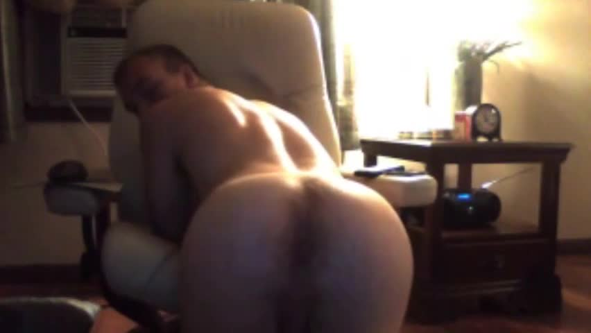 nice-looking attractive chap With enormous weenie And Bubble enormous ass On cam