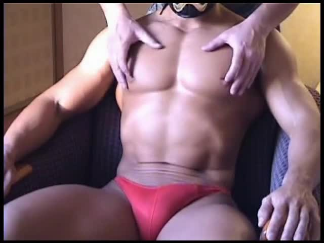 Play With Muscle Japanese & ejaculate
