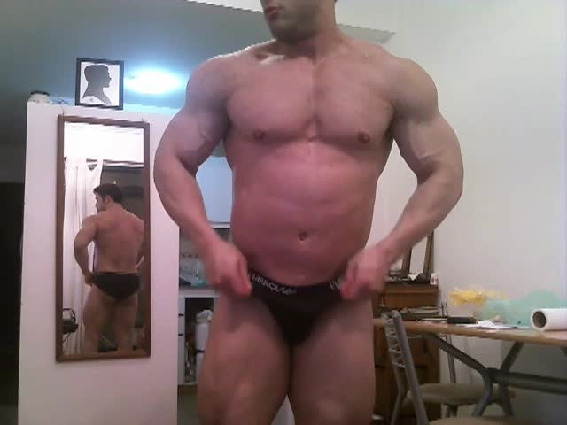 Muscle ramrod Sex Show