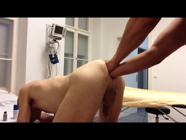 Toms training For Tonys sluty mancum-hole Shows First Success And you Can hear How Tony loves It To Be Filled Up From Tom !!! And it's The 20th Time