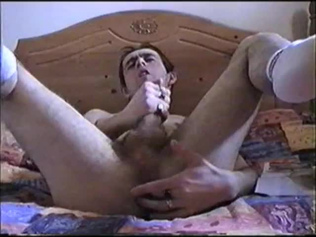 This Is Quite An old Clip I Find Of Me Playing With My aperture & Using A sextoy Until I Jerk My ramrod & cum, I don't Usually Allow Anything In My ap