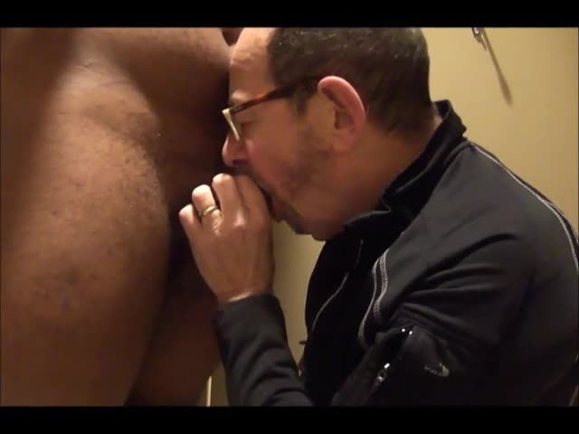 daddy Meets A delicious 18yo Bull On CraigsList.  They Meet In The deliciousel's bathroom Where daddy sucks Then receives pounded.  Finishes Off his H