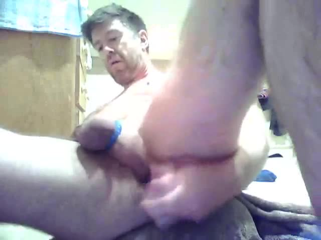 dildo Ride, jerk off And ejaculate On Poppers