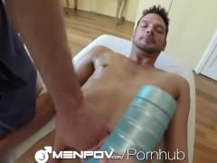 dudesPOV stunning Threeway Mpooperage And poke With toys