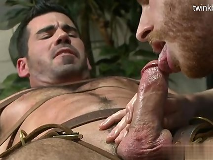 Brutal Cub sperm In mouth