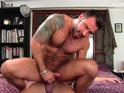 young Stepfather training Sex