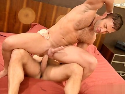 Muscle daddy awesome pound