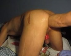 it's Time For A fresh video - After 1ВЅ Years Fist training here Is What My Love Can Do With My But.  there is likewise raw Too. enjoy +30 Minutes se