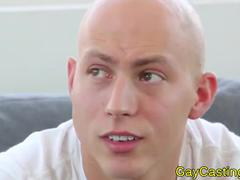 hairless bj Hunk At homosexualcastings Rides rod