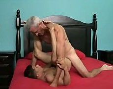 daddy  Top  receives  howdymself  A  Hungry  stud-hole  To  Sink howdys  big  headed  cock  Into.