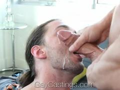 HD - gayCastings dilettante Andy Wants To plow