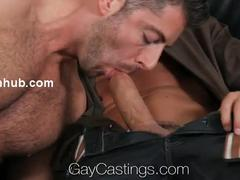 HD - homosexualCastings Michael bangs For First Time