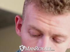 HD studRoyale - lusty guy jerking off gets poke