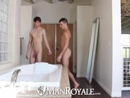 HD manRoyale - sleazy twink Has greetingss booty Wastgreetingss guyd And pokeed By greetingss twink bf
