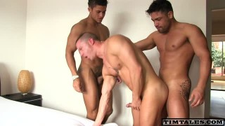 Three charming And cute homosexuals All Ready To pound