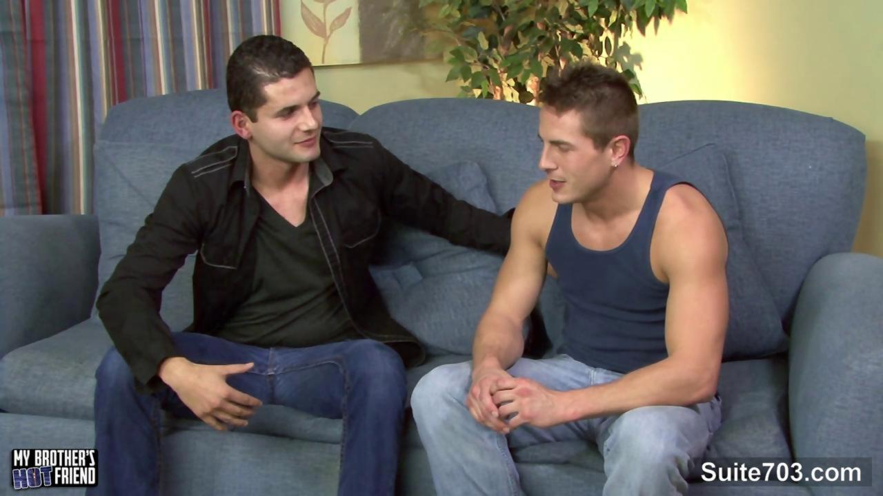 brunette homosexual Gives oral pleasure-stimulation In POV Style