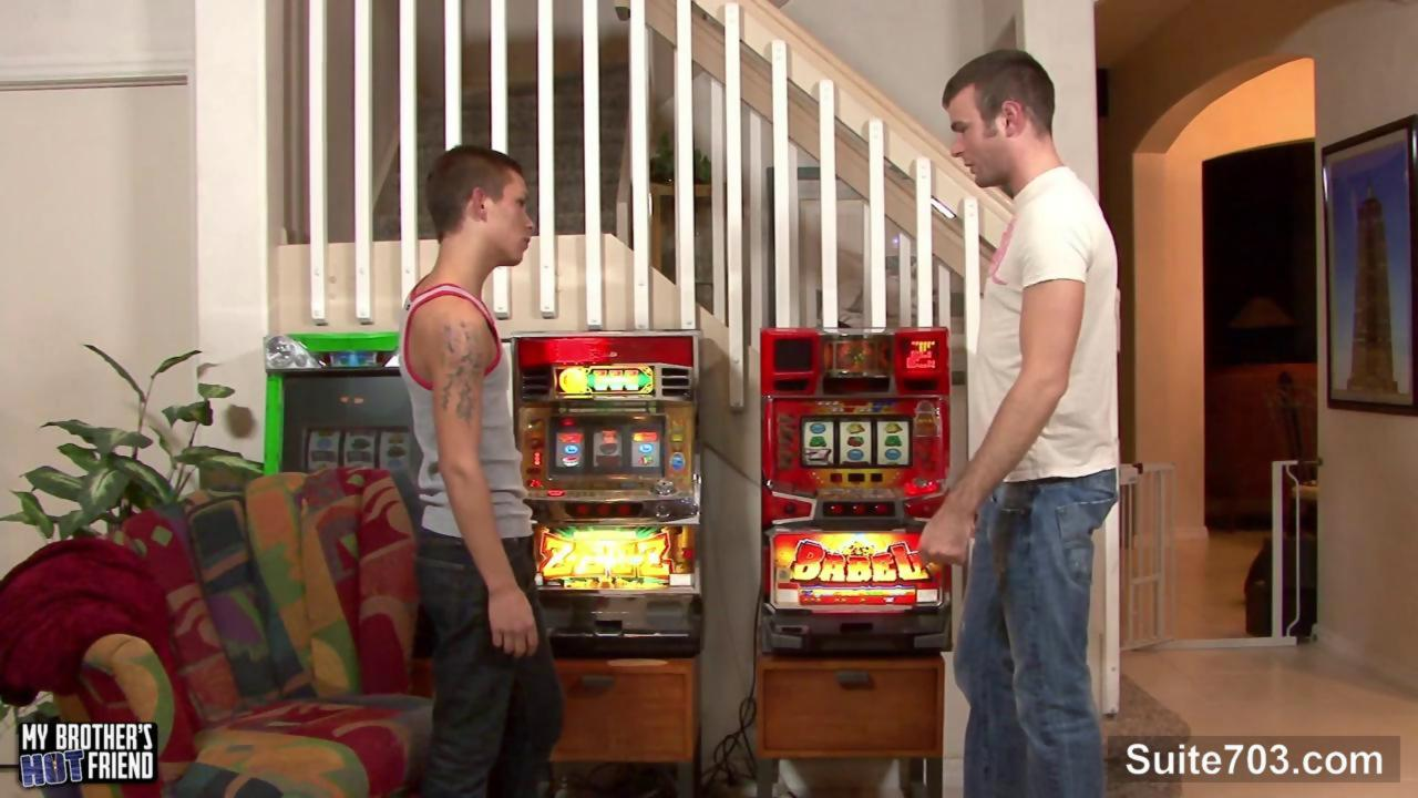 lascivious gay gets booty Stuffed With ramrod