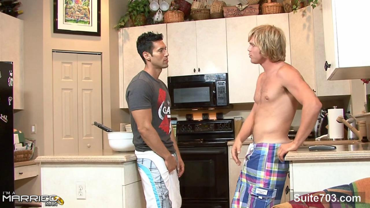 brunette Married fellow Take A homosexual guys penis