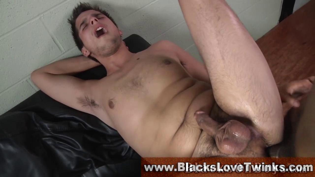 Interracial non-professional homosexual males hammer The ass