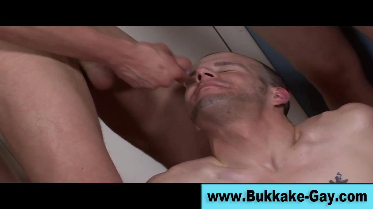 dilettante rod engulfing A homosexual rod And Is Bukkaked