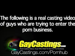 HD GayCastings - juvenile Student Max Bradley Is Trying Out For Porn