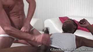 handjob Time With Two homo dudes