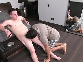 wicked men have a enjoyment engulfing & Stroking