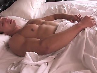 powerful lad Toying & jerking off