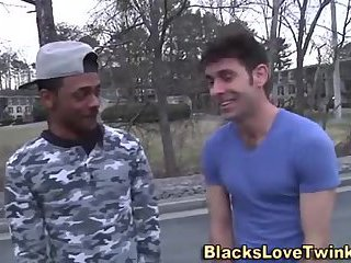 wicked Interracial gay couple pound