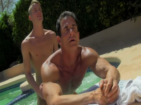 Daddy Poolside Prick Loving - Stefan Nash