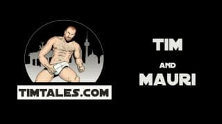 Mauri Is A muscular Bear Being nailed By Tim