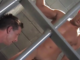 Bobby And Luke plow In Prison