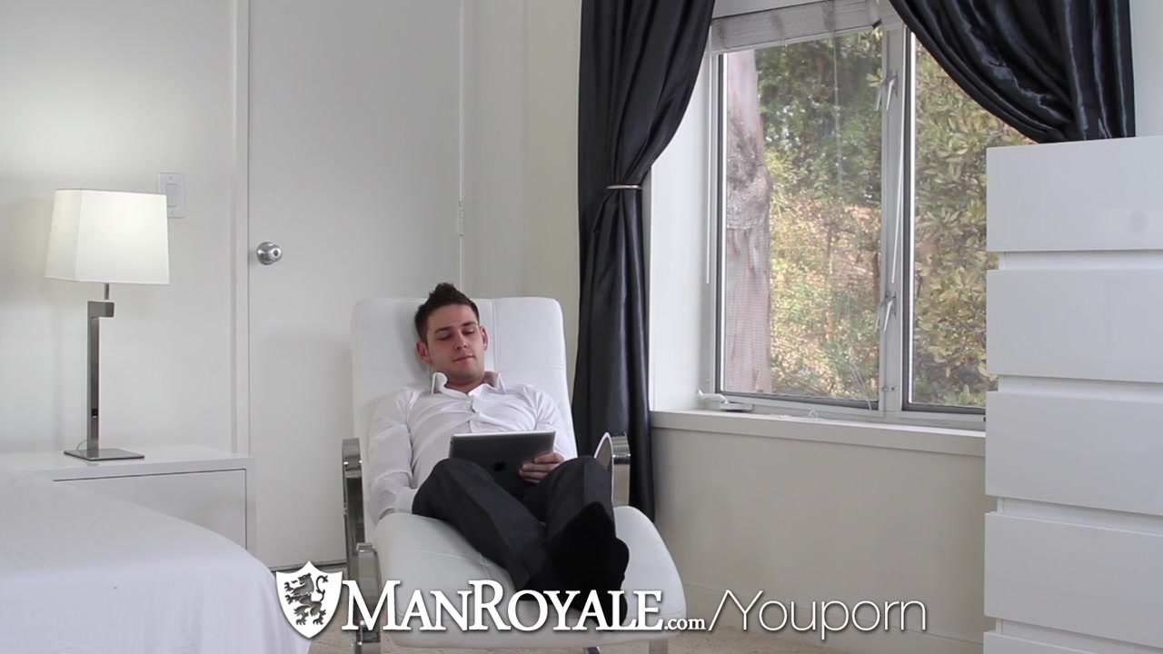 Blue Eyed man Chad bangs On Porn Casting try-out