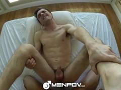 HD MenPOV - nasty man Cums Hard On His ally