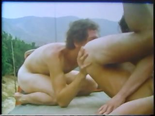 Vintage males pounding By The Car