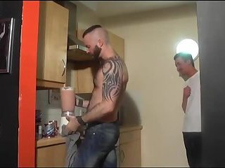 yummy dudes have a fun fellatio & stroking