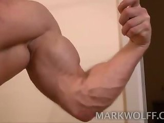 tight Muscle lad Beating Off