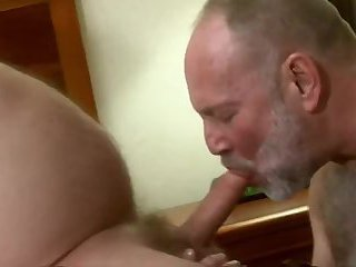 Three mature dudes Sex pleasure
