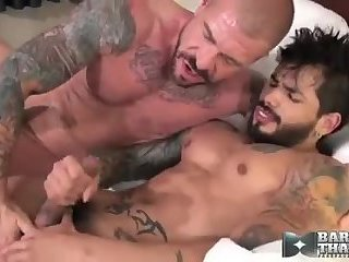 Two men Have Sex In daybed