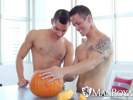 Trick Or Treat - Ethan Slade pounded By Tyler