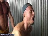 Muscled males raw Spunking