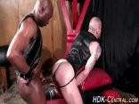 Fetish Interracial bang three